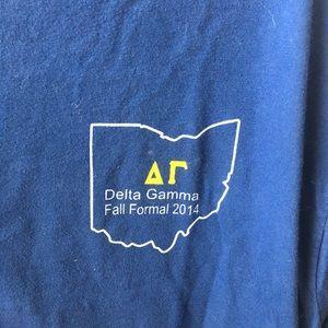Comfort Colors Tops - Delta Gamma Ohio Formal Top